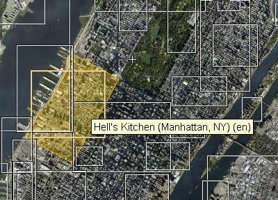 Classic wikimapia view Area_selection